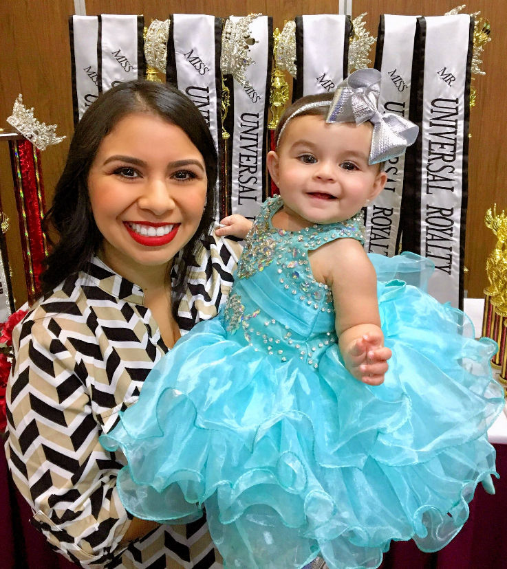 texas baby beauty pageants little miss universal royalty child pageant