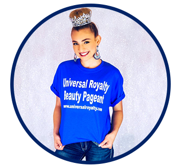 Austin, TX Beauty Pageant, Universal Royalty Beauty Pageant T-Shirt